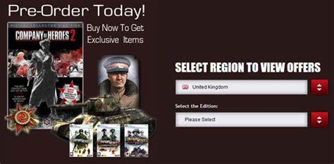 Pre Order 80 Part 2 Company Of Heroes 2 Free Bonus Dlc Announced For Pre