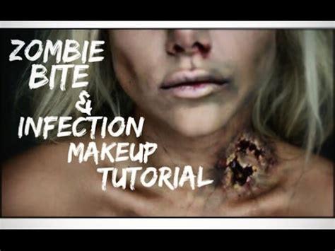 zombie ariel tutorial zombie bite halloween makeup tutorial beeisforbeeauty