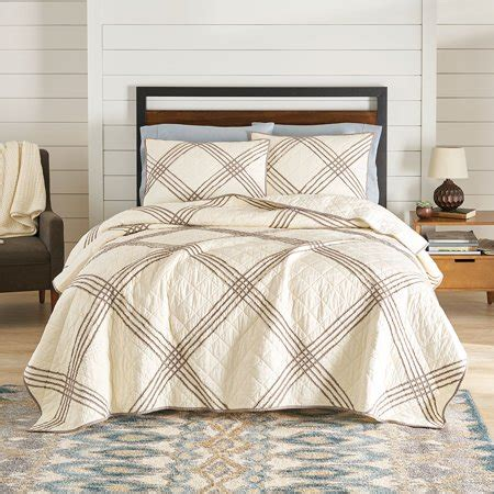 homes  gardens pleated diamond quilt collection