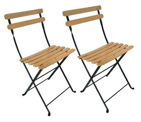 Wooden Bistro Chairs Furniture Designhouse 5599cn Bk Handcrafted Bistro Park Folding Side Chair