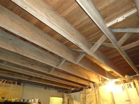 Insulating A Basement Ceiling by Insulate A Basement Ceiling With Building Moxie As The Diy