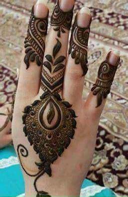 unique mehndi designs  hands art craft ideas