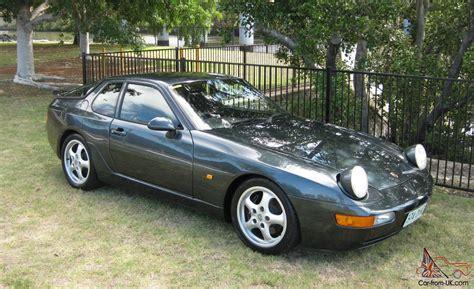 porsche 4 seater cars porsche 968 cs australian complied 1996 mod plate complied