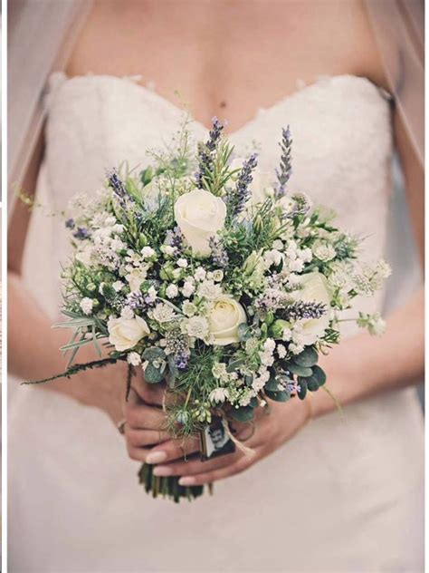 Wedding Bouquet Gypsophila by Lavender Roses And Gypsophila Bridal Bouquet A A