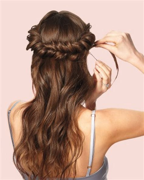 directions for easy updos for medium hair step by step prom hairstyles