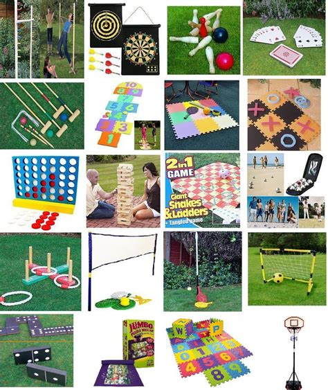 new backyard games new family party in outdoor games summer bbq garden lawn fun small giant ebay