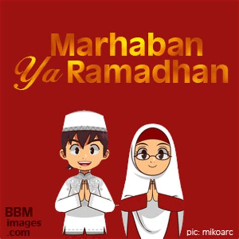 dp bbm ucapan ramadhan   gambar kata selamat