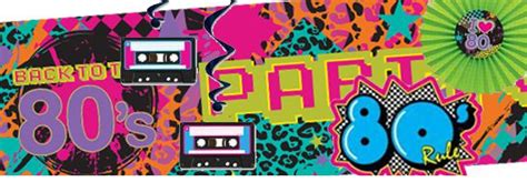 developgo 80 html themes pack 80 s decorations party packs