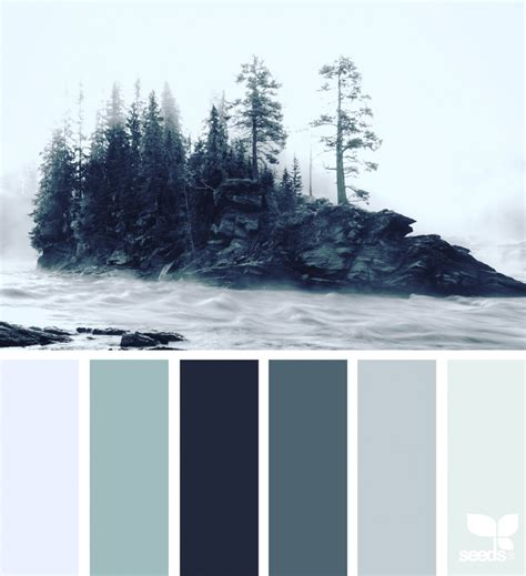 winter color schemes winter tones design seeds
