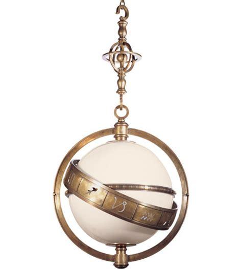visual comfort pendant visual comfort e f chapman zodiac pendant in antique