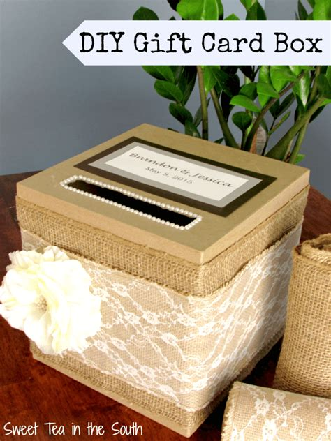how to make gift card boxes for weddings how to make an easy wedding gift card box