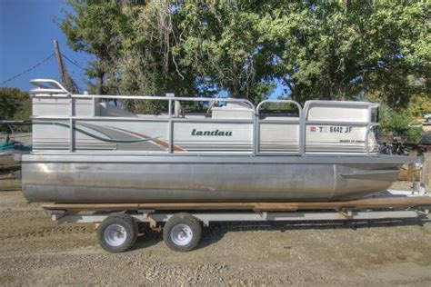2000 landau pontoon boat 2000 landau boats for sale