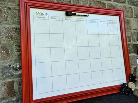 Calendar Whiteboard How A Whiteboard Can Help You Get Creative In The Kitchen