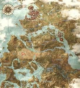 The Witcher World Map by Witcher Map Related Keywords Amp Suggestions Witcher Map