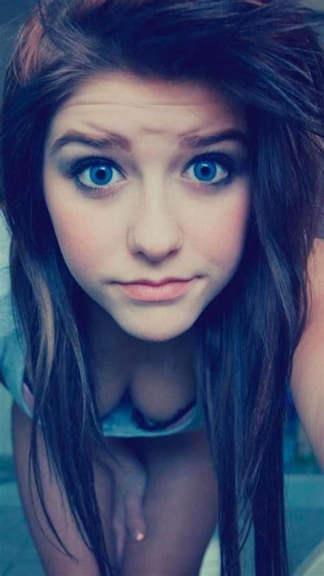 cute teenagers 2160x3840 blue eyes cute teen girl sony xperia x xz z5