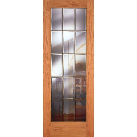 feather river doors       lite unfinished oak