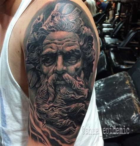 zeus tattoos zeus by shua epidemic zeus
