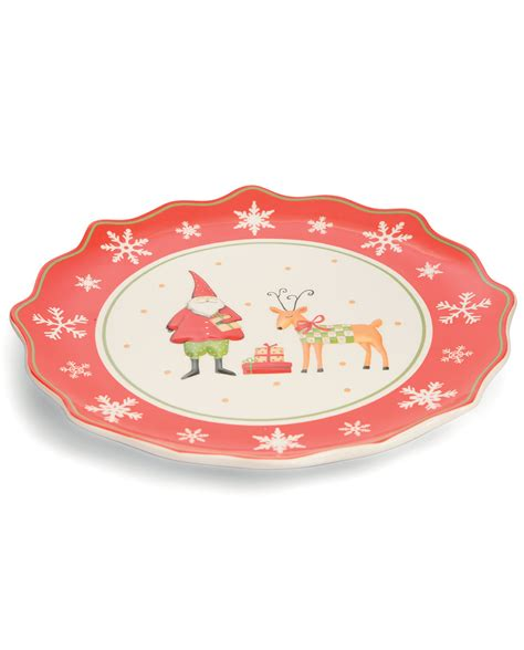 piatto da portata piatto da portata natalizio tondo mobilia store home