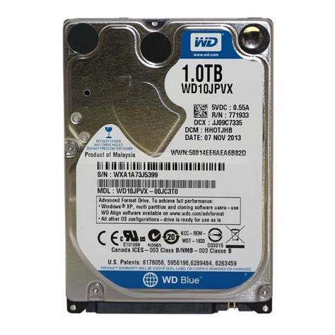 Sale Wd Blue Harddisk 1tb 2 5 Sata Slim wd blue wd10spcx 1tb laptop hdd 16mb cache sata 2 5 7mm ep dyl04 95 87