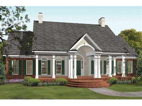 southern house plans with in suite cottage