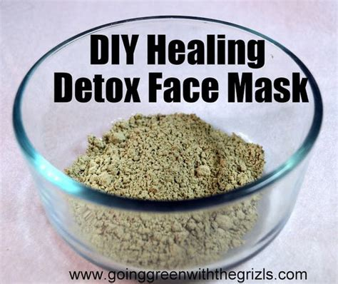 Detox The World Pregnancy by Diy Healing Detox Mask With Zeolite Going Green
