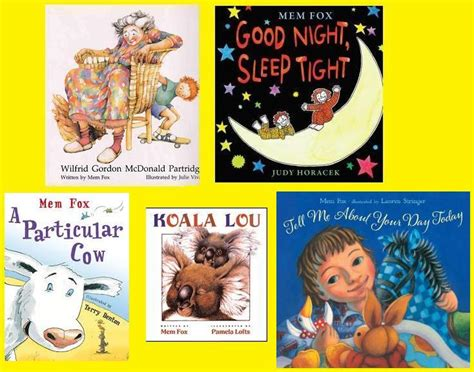 mem fox picture books strange culture my 5 favorite mem fox books to read to my