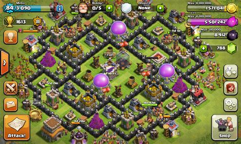 coc layout th8 anti loot th8 farming base anti giant www pixshark com images