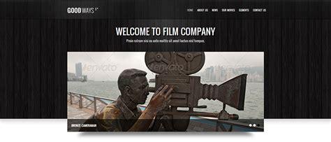 18 Best Filmmakers Website Templates Free Premium Themes Free Premium Templates Filmmaker Website Template