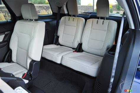 Third Upholstery by 2016 Ford Explorer Platinum Pictures On Auto123 Tv