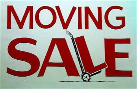 Moving Garage Sale fic s ecological office moving sale fellowship for