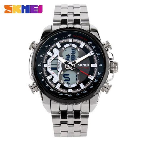 Jam Tangan Casio Rantai Analog Digital Pria Aw 80d 1a2v Original skmei jam tangan analog digital pria ad0993 black jakartanotebook
