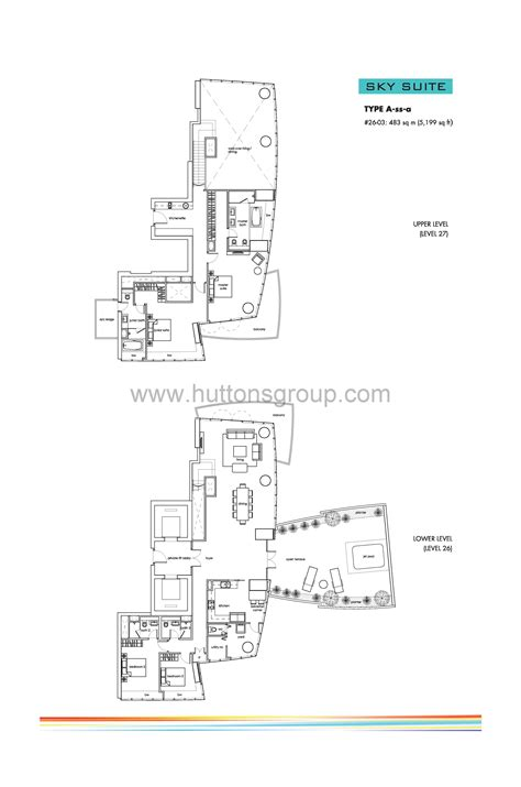 one shenton floor plan sky suites 4 bed one shenton