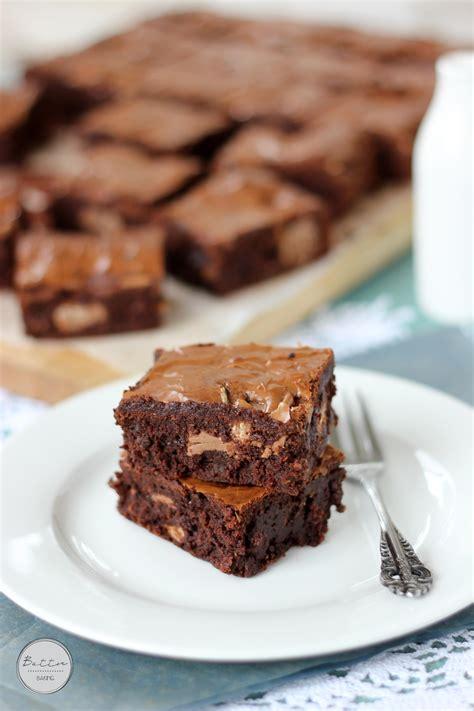 Kitkat Brownie kit chunk brownies butter baking