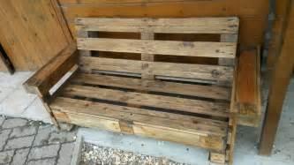 banc en bois de palette meubles et rangements par huggu