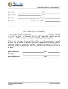 probationary period template best photos of 90 day probationary period template 90