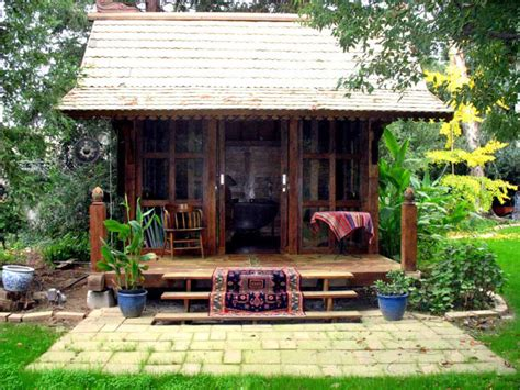 small backyard guest house gado gado teak guest house