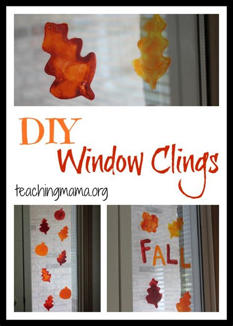 window clings diy window clings