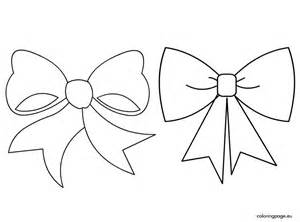 bow coloring pages bows coloring page
