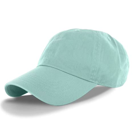 cotton cap baseball caps hat adjustable polo style washed