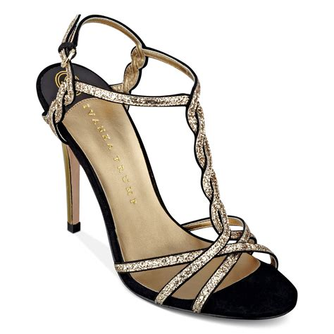 shoes culver evening sandals lyst ivanka hara high heel evening sandals in