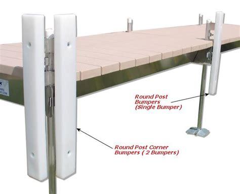 how to make boat dock bumpers make docking safer with dock bumpers v dock r d