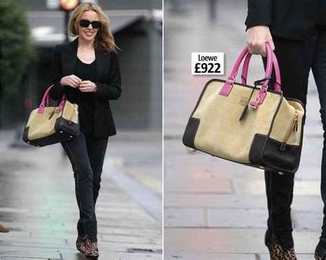 And Dannii Minogue Design A Handbag For The Terence Higgins Trust by Wanted Minogue S Loewe Handbag Look