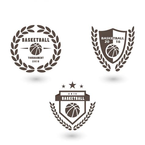 Basketball Logo Template Design Vector Free Download Basketball Team Logo Template