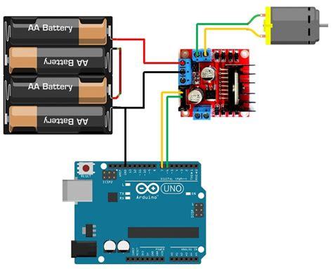 tutorial l298n arduino puente h l298 controladora motores arduino l298n 2 amperes