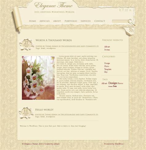 elegance wallpaper theme free webdesign photoshop