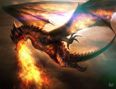 fiore dragone battle skies by alexanderlevett on deviantart