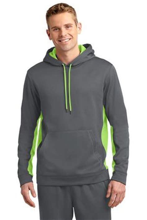 Hoodie Smoke Em Navy Station Apparel sport tek sport wick fleece colorblock hooded pullover