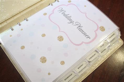 how to make a wedding planning binder your easy step by step guide organized wedding planning a bowl full of lemons