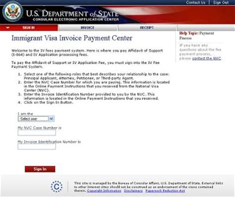 national visa center phone number the journey continues nvc payment system