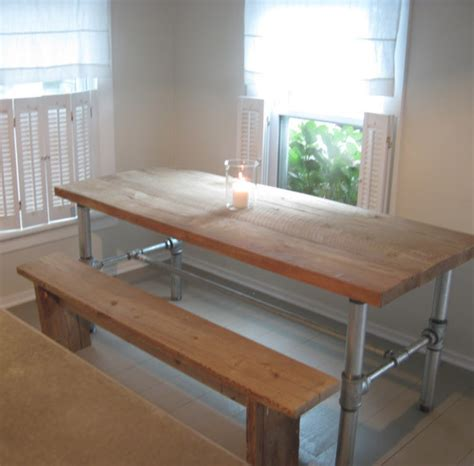diy table with pvc legs fancy diy industrial pipe table base frugal farmhouse apartment therapy
